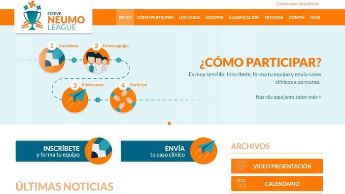 Esteve NeumoLeague, una competición para neumólogos residentes