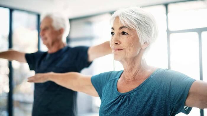 Alzhéimer y ejercicio físico semanal.