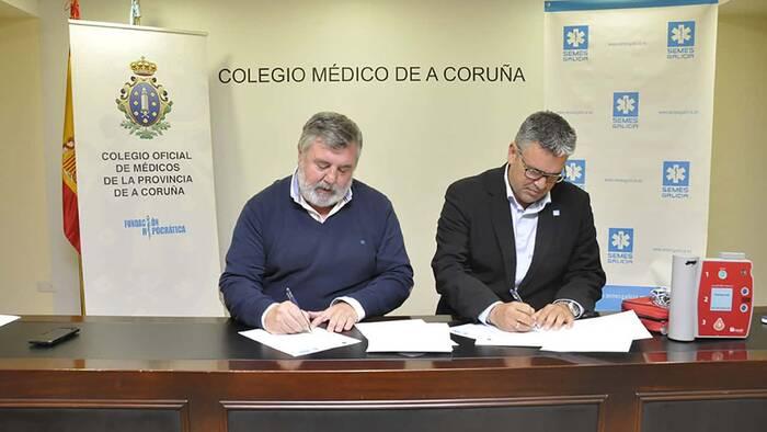 Los médicos de La Coruña actualizan sus conocimientos en RCP.